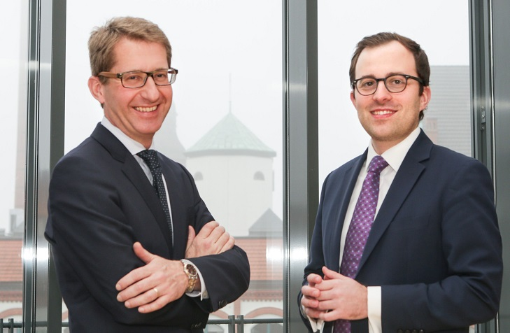 Martin Walka, Geschäftsführer/Partner (links) und Georg Krasser, Investment Manager