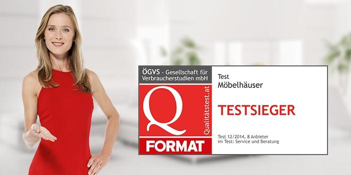Format Testsieger