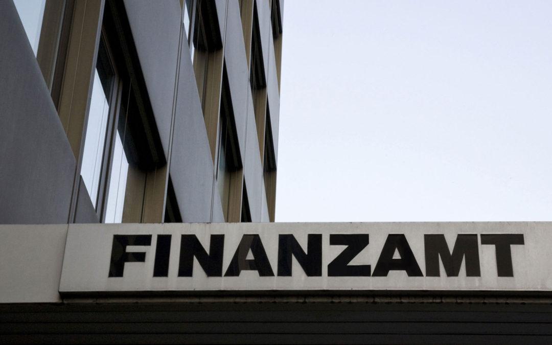 Konteneinschau durch die Finanz